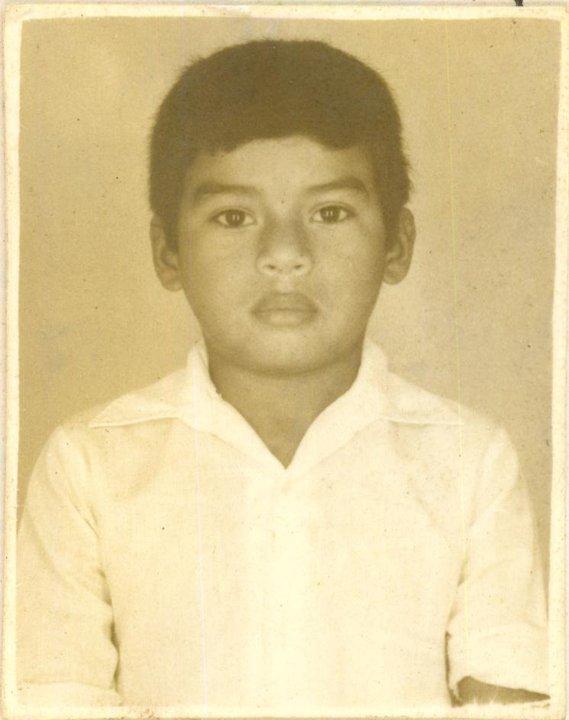 O escritor Edilson Pantoja em 1980.